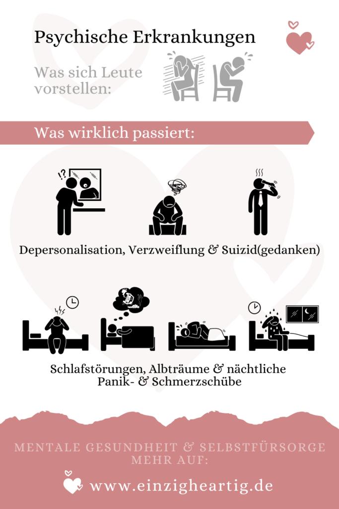 Psychische Krankheiten #EndTheStigma - einzigheartig.de