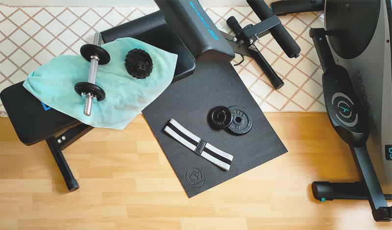 Sport zuhause – Dein eigenes Fitnessstudio einrichten