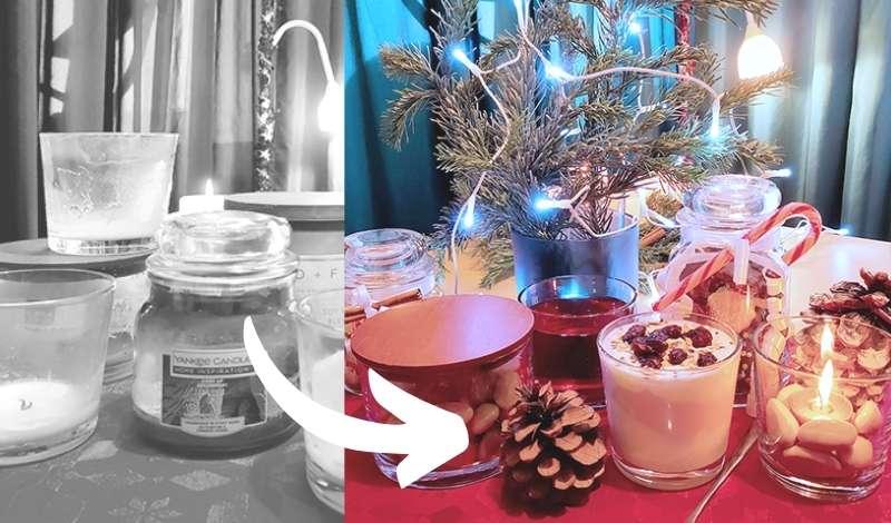 DIY, Upcycling & Basteln - Geschenk Ideen für alte Kerzengläser