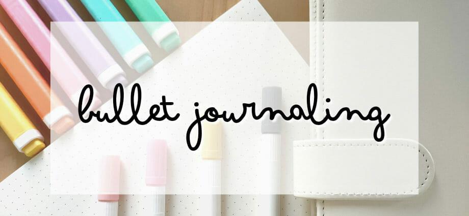Bullet Journal Tipps für Anfänger
